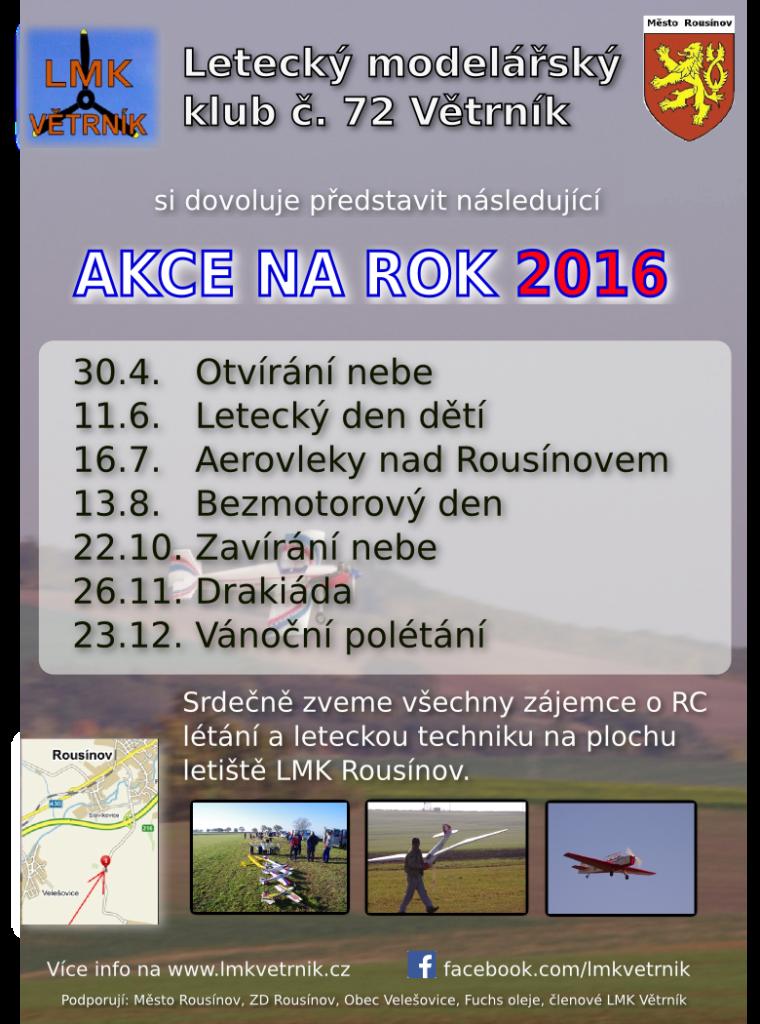 Planovane akce 2016